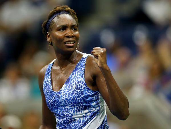 Venus Williams Through to US Open Third Round. Image: Getty.