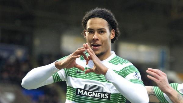 Virgil van Dijk Joins Southampton from Celtic. Image: Getty.