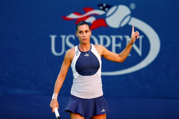 If Flavia Pennetta Reaches The Final, Success of an All-Italian Final Means Serena Would Not Achieve Calendar Slam Because the American is Meeting Another Italian Roberta Vinci. Image: USTA.