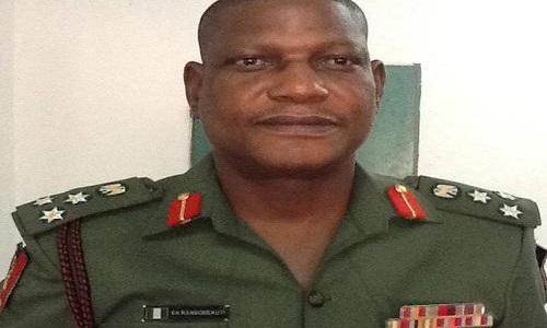 Brigadier General EA Ransome-Kuti