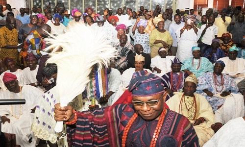 Deji of Akure-Oba Aladetoyinbo Ogunlade Aladelusi