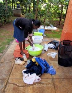 Washing clothe
