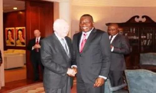 Jimmy Carter and Goodluck Jonathan