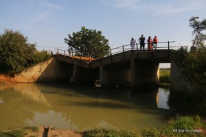 bridge linking to Mubi town