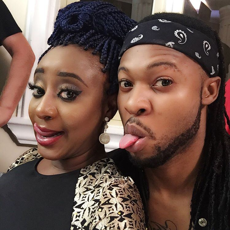 SEE What Ini Edo And Flavour Are Doing In This Photo