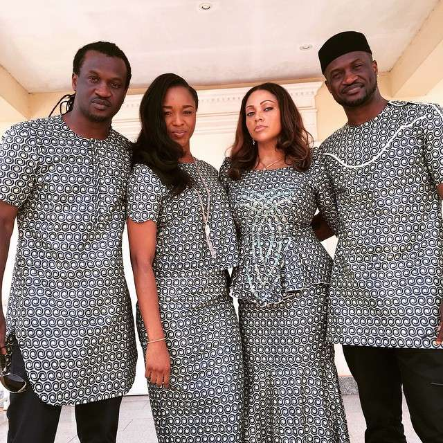 square brothers got from their respective wives   information nigeria