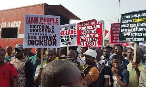 APC-Protests-Bayelsa