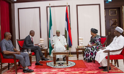 Buhari chat