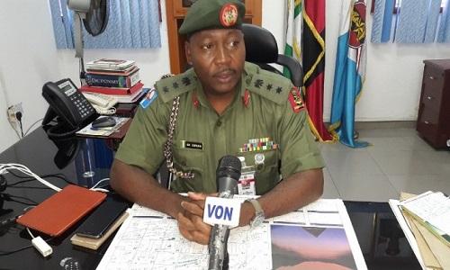 Sani Usman-Nigerian Army