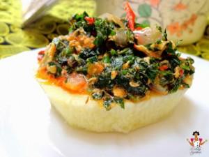 Vegetable egg sauce
