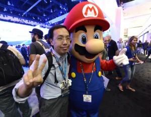 Video-game-icon-Mario-creates-Linkedin-page
