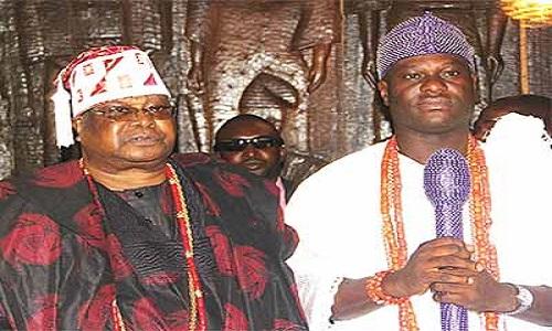 Awujale of Ijebuland-Ooni of Ife