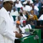 Buhari-Budget Presentation