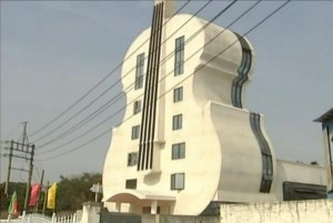 Church-shaped-like-a-giant-violin-opens-in-China
