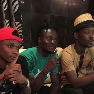 Photos Obafemi Martins Invites Wizkid And Dammy Krane To His House To Settle Beef Information Nigeria