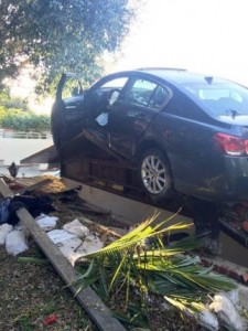 Car-spins-out-of-control-lands-on-roof-of-California-home