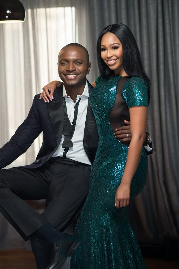 Ik Osakioduwa and Minnie Dlamini