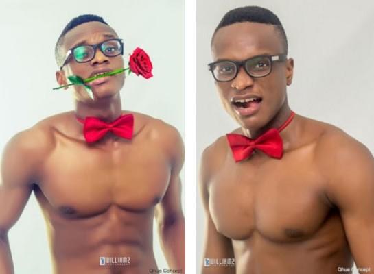 Former Universe Nigeria Shares Shirtless Pre Valentine