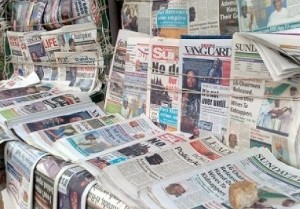 nigerian newspaper headlines november 2