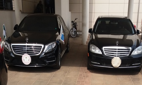 official cars
