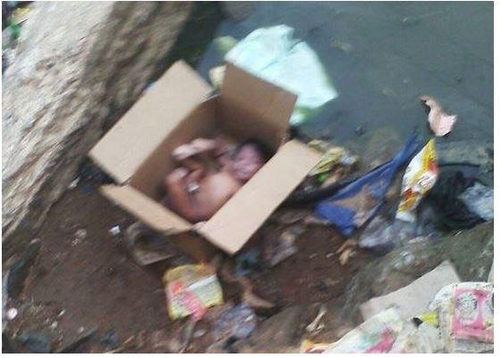 HEARTLESS!!! Newborn Baby Abandoned Under A Bridge In ...