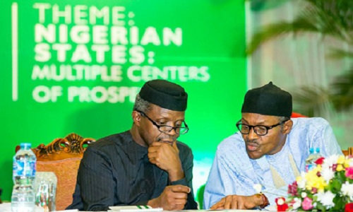 Buhari-Osinbajo-NEC-Retreat