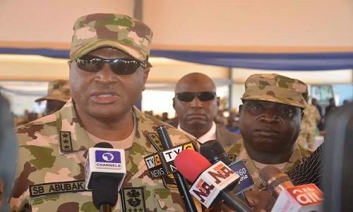 Chief of Air Staff-Air Marshal Sadique Baba Abubakar
