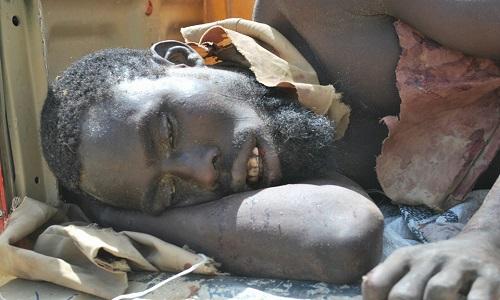 Dead Boko Haram Terrorist