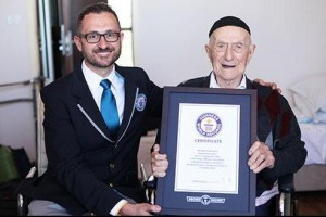 Guinness-certifies-worlds-oldest-man-112-in-Israel