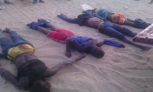 Killed Boko Haram Terrorists