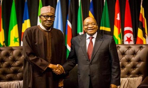 Muhammadu Buhari-Jacob Zuma