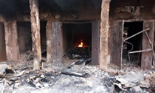 Sabongari Market fire