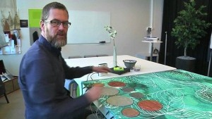 Smart Textiles Company Creates World's First Musical Tablecloth