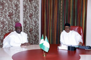 Governor Ambode and Buhari