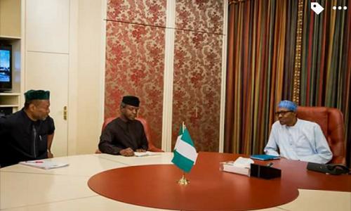 Buhari-Osinbajo-Udoma