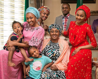 Buhari-daughters