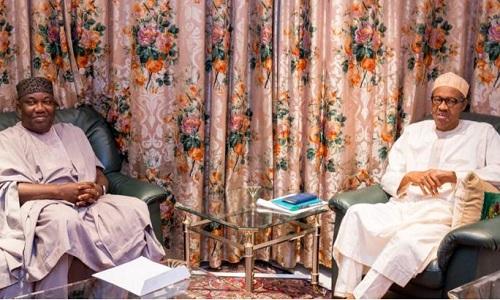 Ifeanyi Ugwuanyi and Buhari