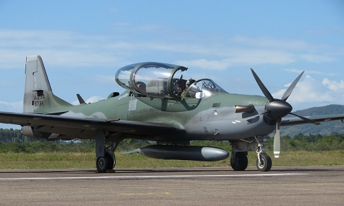 A-29 Super Tucano light attack aircraft