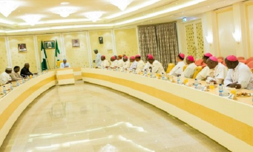 Buhari-Catholic Bishops