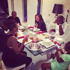 Idibia-and-Balogun-family-dinner