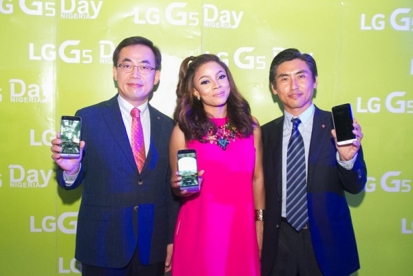 M.D LGEAF, MR S.H KIM, TOKE MAKINWA AND MR. STEVE LEE, LGEAF MC PM