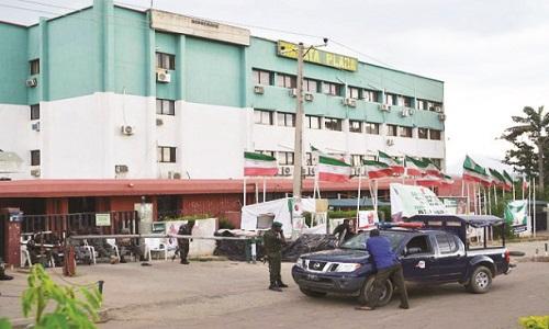 PDP-Headquarters sealed