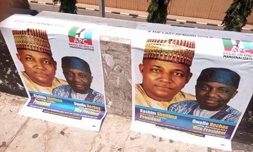 Shettima-Okorocha Campaign Posters