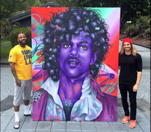 The-Game-and-Madsteez-with-portrait-of-Prince