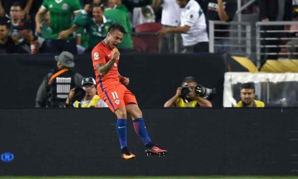 Four Goal hero Eduardo Vargas