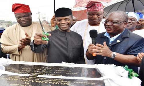 Ago Palace Way-Okota Road Commissioning