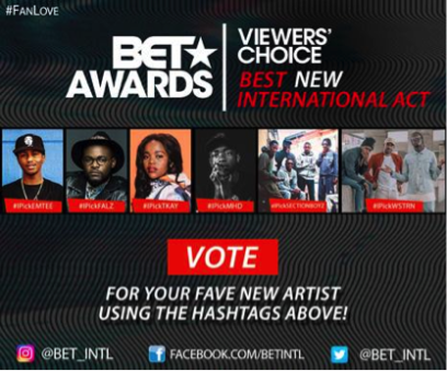 Falz for BET