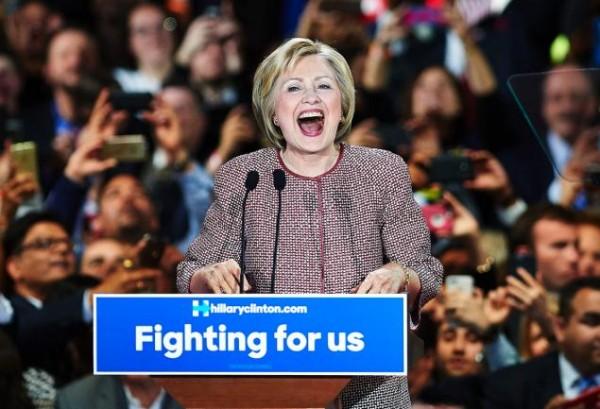 Hillary Clinton at New York