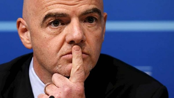 Gianni Infantino was elected FIFA President in February