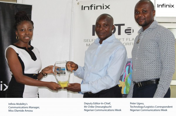 Infinix Boict award